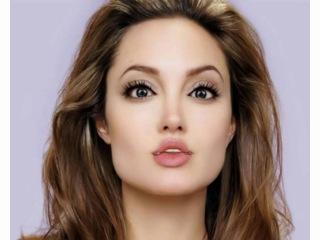 Поздравление с Днем рождения на англ. яз. от Анджелины Джоли (англ.). Открытка